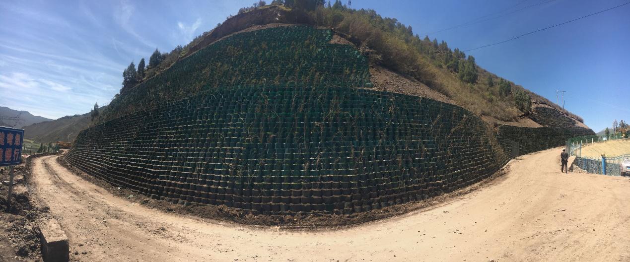 石门公路岸坡生态防护治理单位工